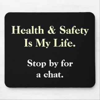 Mousepad Saúde e segurança de DeMotivational que dizem