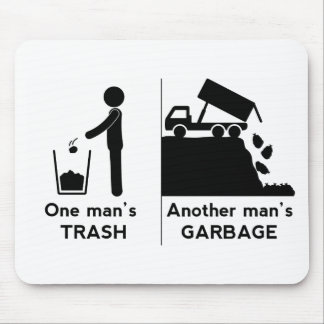 Mousepad Se equipa o lixo