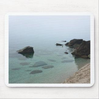Mousepad Seascape calmo do oceano, foto da água do zen
