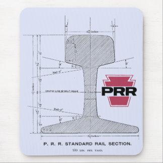 Mousepad Seção de trilho da estrada de ferro de Pensilvânia