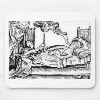 Mousepad Seele Entweicht - alma que deixa o corpo