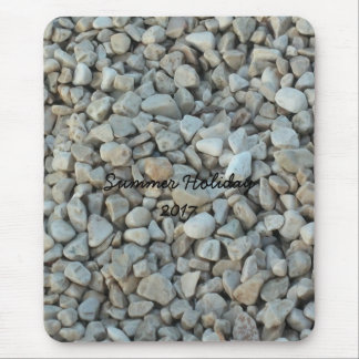 Mousepad Seixos na fotografia da pedra da praia