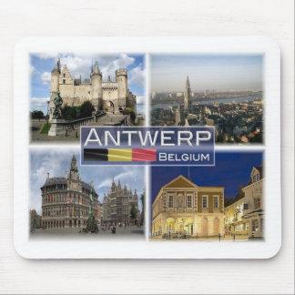 Mousepad SEJA Bélgica - Antuérpia - Het Steen - catedral