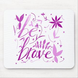 Mousepad seja rosa bravo
