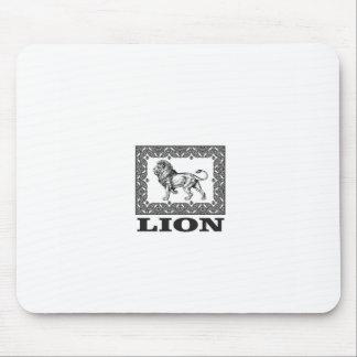 Mousepad selo do leão