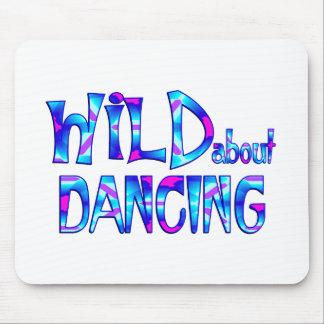 Mousepad Selvagem sobre a dança