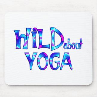 Mousepad Selvagem sobre a ioga