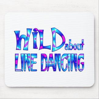 Mousepad Selvagem sobre a linha dança