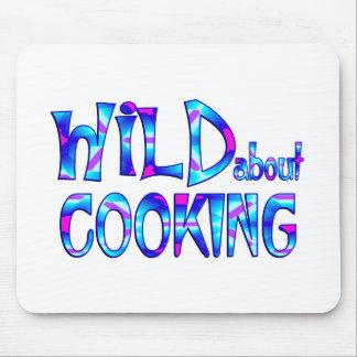 Mousepad Selvagem sobre o cozinhar