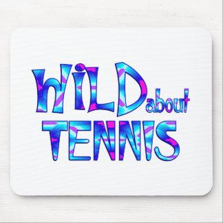 Mousepad Selvagem sobre o tênis