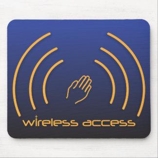 Mousepad sem fio do cristão do acesso