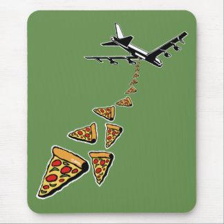 Mousepad Sem guerra mais pizza