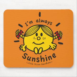 Mousepad Senhorita pequena Luz do sol | eu sou sempre luz