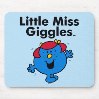Mousepad Senhorita pequena pequena Riso Gosto Riso da