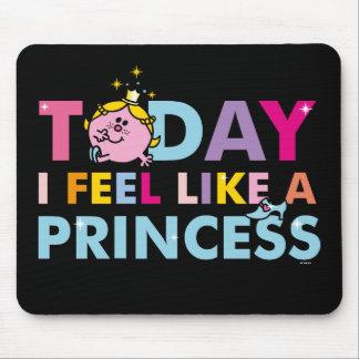 Mousepad Senhorita pequena princesa | que eu sinto como uma