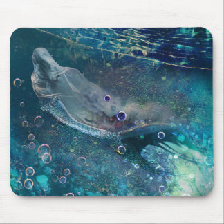 Mousepad Sereia subaquática da mística do índigo