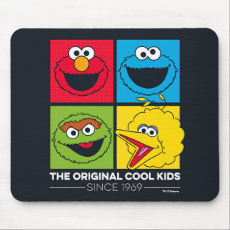 Mousepad Sesame Street | os miúdos legal originais