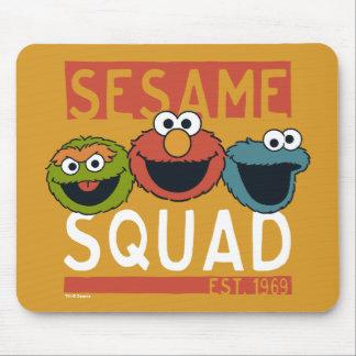Mousepad Sesame Street - pelotão do sésamo