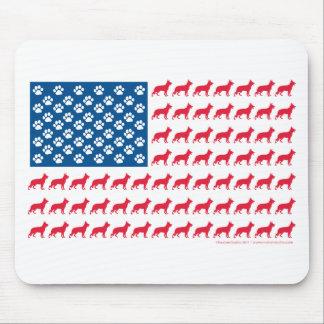 Mousepad Shepard-Bandeira patriótica