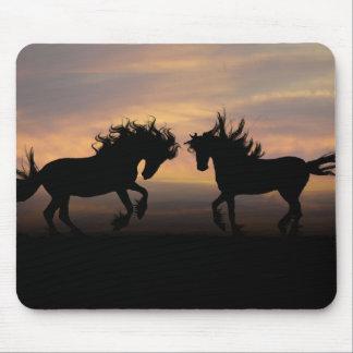 Mousepad Silhueta do cavalo