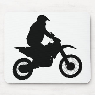 Mousepad Silhueta do motocross