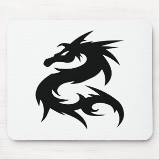 Mousepad Silhueta tribal do dragão
