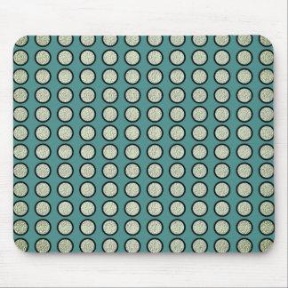 Mousepad Silver-Dots_Ocean-Blue_Bling__Unisex
