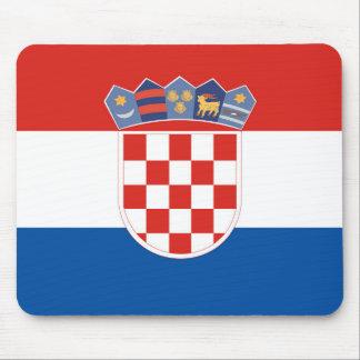 Mousepad Símbolo da bandeira de país de Croatia por muito