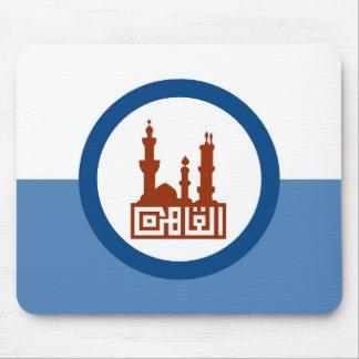 Mousepad Símbolo de Egipto da bandeira da cidade do Cairo