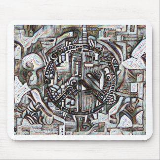 Mousepad Símbolo de paz abstrato