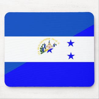 Mousepad símbolo do país da bandeira de El Salvador
