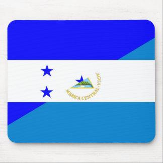 Mousepad símbolo do país da bandeira de honduras Nicarágua