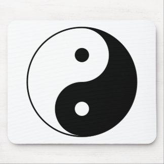Mousepad Símbolo filosófico inspirador de Yin e de Yang