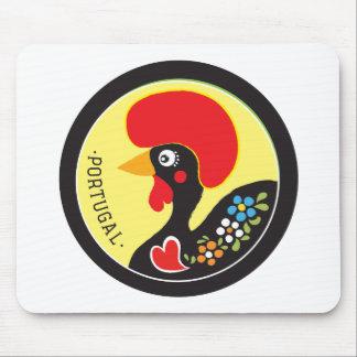 Mousepad Símbolos de Portugal - Galo de Barcelos