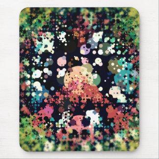 Mousepad Sinal de paz colorido dos círculos