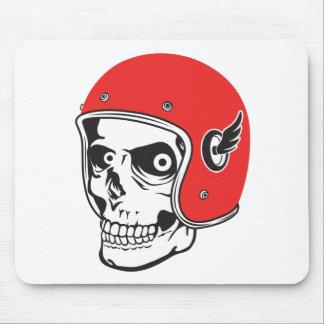 Mousepad ☞ Skullracer motorcycle helmet