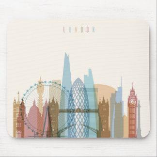 Mousepad Skyline da cidade de Londres, Inglaterra |