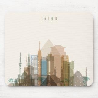 Mousepad Skyline da cidade do Cairo, Egipto |