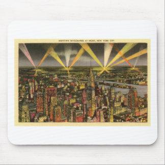 Mousepad Skyline da Nova Iorque do vintage