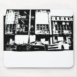 Mousepad Skyline & tapete do rato da WTI