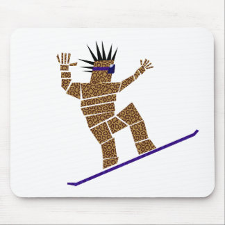 Mousepad Snowboarder