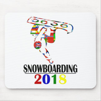 MOUSEPAD SNOWBOARDING 2018