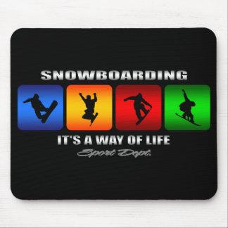 Mousepad Snowboarding legal é um modo de vida