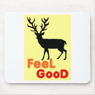 Mousepad Sombra dos cervos da sensação boa