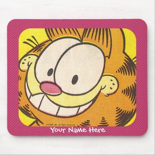 Mousepad sorrir forçadamente de Garfield