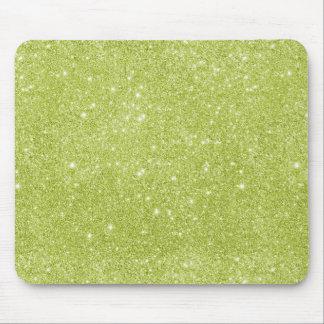 Mousepad Sparkles do brilho do verde limão