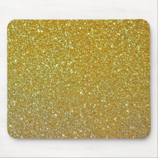 Mousepad Sparkles modernos da folha do falso do brilho do