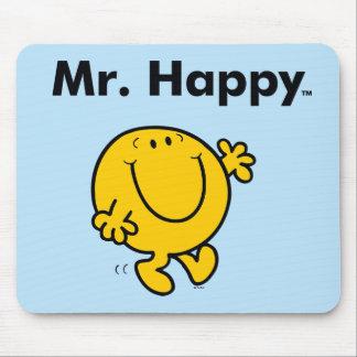 Mousepad Sr. Feliz Ser Sempre Feliz do Sr. Homem |