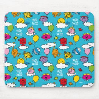 Mousepad Sr. Homem & pássaros & balões pequenos da