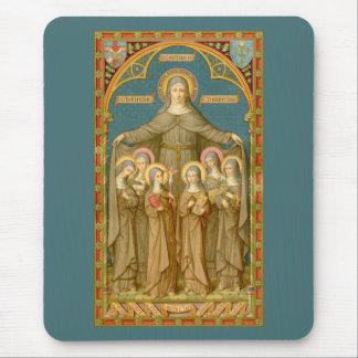 Mousepad St. Clare de Assisi & das freiras (SAU 027)